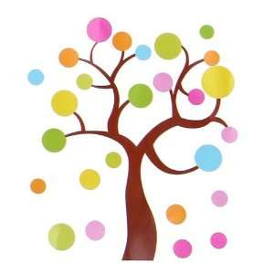 Spot Tree 1   Large Wall Decals Stickers Appliques Home