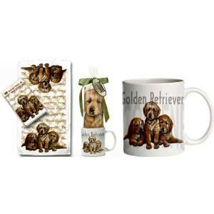 Puppy Dog Breed Gift Set ~~ Includes 11 ounce COFFEE MUG and matching