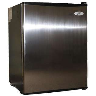 Steel 2.5 cubic foot Energy Star Compact Refrigerator
