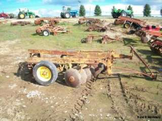 Taylor Way 7 1/2 Off Set Wheel Disc Plow/Cultivator