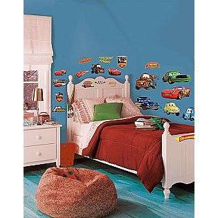 Cars   Piston Cup Champs Peel & Stick Wall Decals  RoomMates Tools