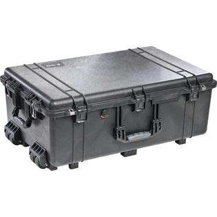 Pelican Large Black Rolling Case Automatic Pressure Equalization Valve