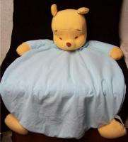 Pooh Large Security Blanket Lovey Fisher Price Disney