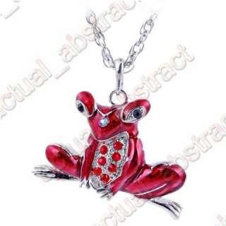 Free Tibetan frog charms pendant necklace 6pcs