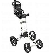 Bag Boy Quad 4 Wheel Black Push Golf Cart New in Factory Sealed Box
