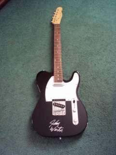 Johnny Winter Signed Autographed Guitar With COA