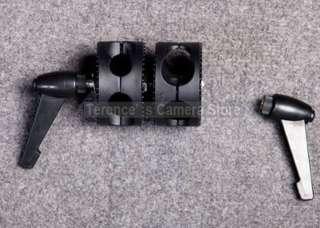 Heavy Duty Light Stand Double Dual Grip Head Clamp