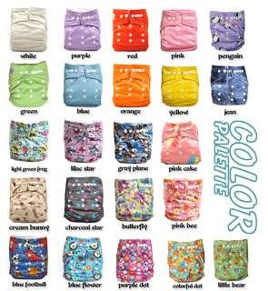 POCKET BABY CLOTH DIAPER 1 SIZE + 1 INSERT
