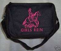Reining Horse cooler lunch box black GIRLS REIN NEW