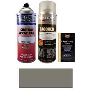 12.5 Oz. Lakeshore Silver Metallic Spray Can Paint Kit for