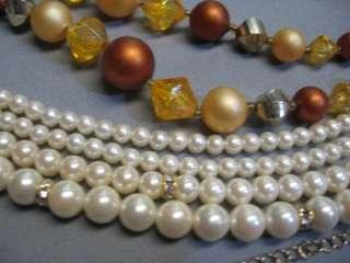 Quality Jewelry Lot, Lucky Brand, Trifari, Monet, Ireland, S. Walker
