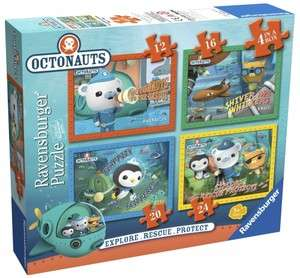 Octonauts 12 16 20 24 Piece 4 Jigsaw Puzzle Brand New Gift
