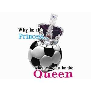 Soccer Queen Soccer Tshirt Gifts AXXL WHITE AXXL Sports