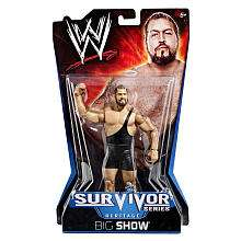WWE Survivor Series Action Figure   Big Show   Mattel