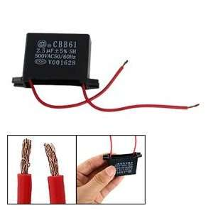 Motor Start up Ceiling Fan Capacitor CBB61 Black: Car Electronics