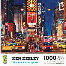 Mural Mosaics Jigsaw Puzzle The New Times Square  1000 Piece   Ceaco