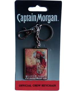 Captain Morgan Break Out Design Metal Crew Key Chain