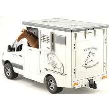 Bruder Mercedes Benz Sprinter Horse Transporter   Bruder Toys America