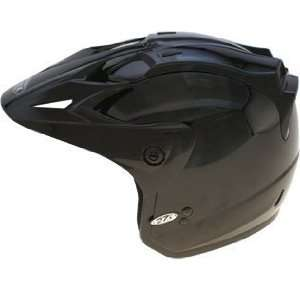 GMAX GM 27 Open Face Motorcycle Helmet   Black Automotive