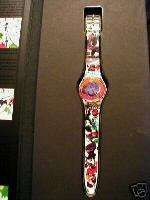 Art Swatch watch SAM FRANCIS Limited edition New