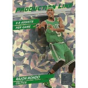 11 Donruss Production Line Holofoil #44 Rajon Rondo Everything Else