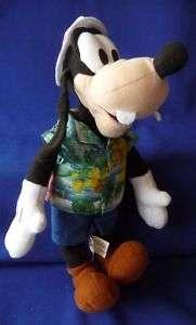 Stuffed Plush Animal GOOFY DISNEY Character Toy Factory