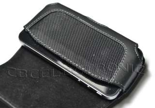 New Black Belt clip leather Case Sleeve for Nokia C3 C3 00