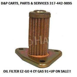 EZ GO GOLF CART 4 CY GAS OIL FILTER 91+UP ON SALE