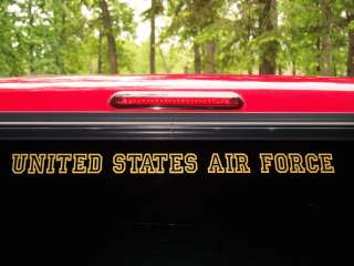 UNITED STATES AIR FORCE Decal US Military USAF