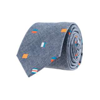 Boys nautical flag chambray tie   ties & bow ties   Boys accessories