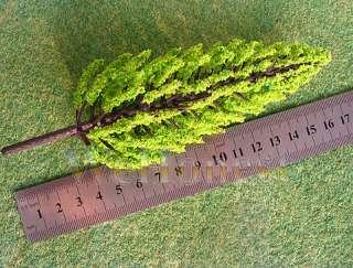 20 pcs G scale 132 Pine Trees Bright Green #C16060