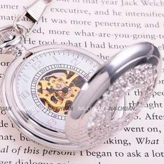 Mechanical / Quartz Chain Pendant Lady Men Pocket Watch