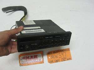 96 97 AUDI CABRIOLET AM FM RADIO CASSETTE PLAYER OEM