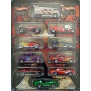 2000 Collectible Tin Drag Bus, 57 Chevy, Camaro, Viper Toys & Games