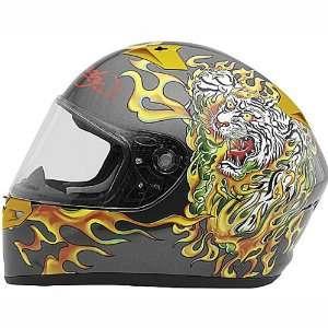 Ed HARDY KBC Full Face Race Street Helmet VR 2R TIGER