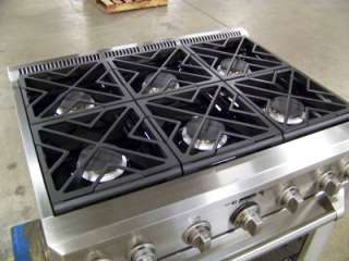 ® 36 Dual Fuel Professional Range with 6 Burners (LP Propane