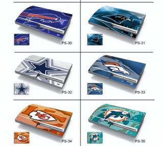 NFL Football Skin Decal Sticker for PlayStation 3 PS3