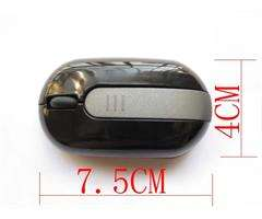 Mini 10M USB Fold Arc Cordless Wireless Mouse Red Pink black white for