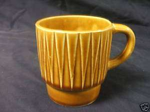 VINTAGE JAPAN STACKING COFFEE TEA MUG OLD CUP 1950S