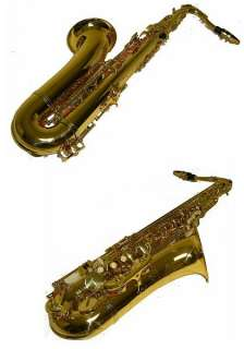 Professional Gold Tenor Saxophone Sax Brand New