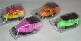 Set of 4 Matchbox 152 Scale Kelloggs Delivery Trucks
