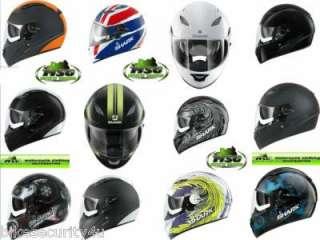 Shark Vision R Motorcycle Helmet All Designs + Sizes