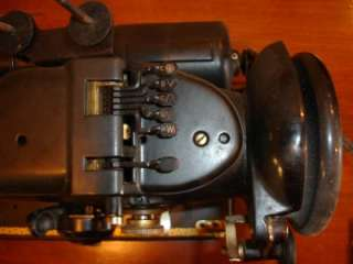 Fold Out Singer Sewing Machine Model 319 With Original Manual