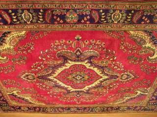 7x10 Beautiful Handmade Carpet Persian Tabriz Wool Rug