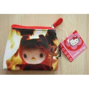 Hello Kitty Coin Purse   Red Devil Toys & Games