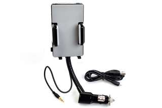 Audio Transmitter Hands free Car Charger Holder For HTC 4G EVO