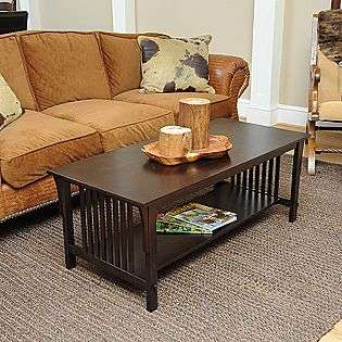 Table   Espresso  For the Home Living Room Coffee & End Tables