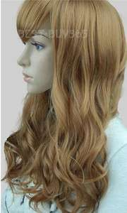 Fashion Women Lady Girl Long Cosplay Costume Party Hair Wig 303