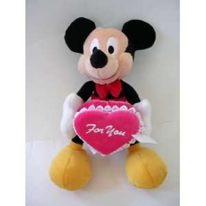 Mickey Mouse Plush & Hear Shape gift Box : For you: Toys & Games