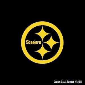 Pittsburgh Steelers Emblem Car Window Decal Sticker Gold 5